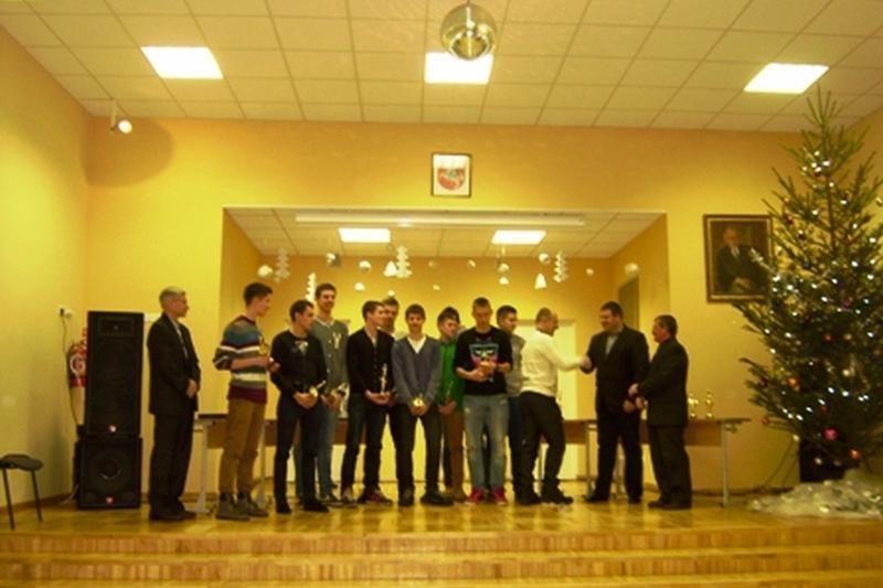 Palangos sporto centras paskelbė geriausius 2012 metų sportininkus