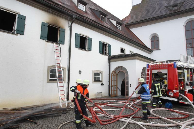 Vokietijoje per gaisrą vienuolyne sužeista 10 vienuolių
