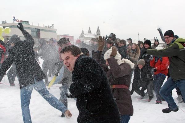 Sniego karas. Antras dublis (2)