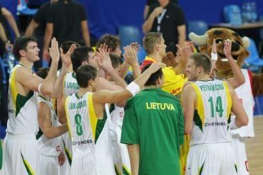Lietuva žais pasaulio krepšinio čempionate