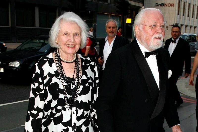 Lordo Richardo Attenborough žmona serga silpnaprotyste