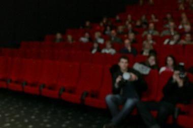 Moterų kino festivalio centre – prancūzų kino žvaigždė