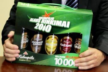 """Paskutinis kandidatas skelbia """"Kalnapilio"""" metų alaus rinkimų startą"""