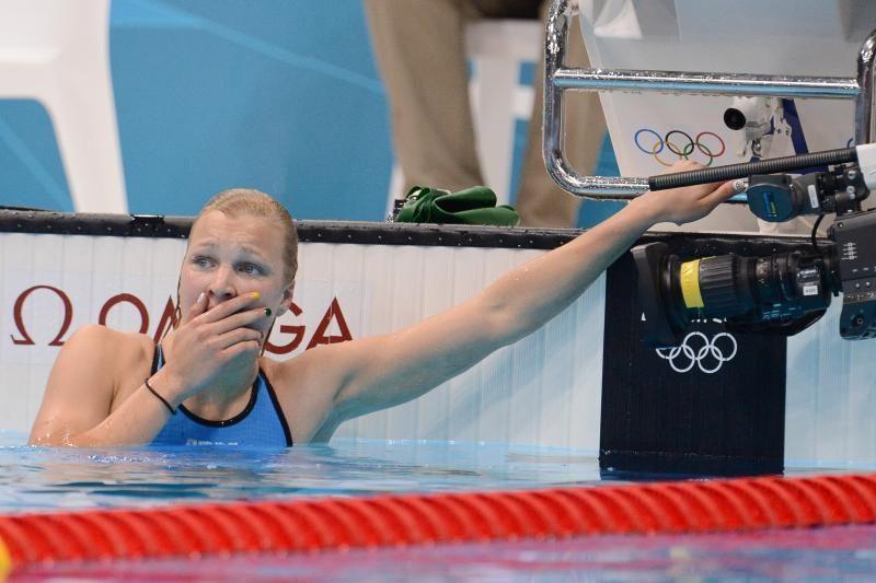 R. Meilutytė pateko į pusfinalį, tačiau jame dalyvauti atsisakė