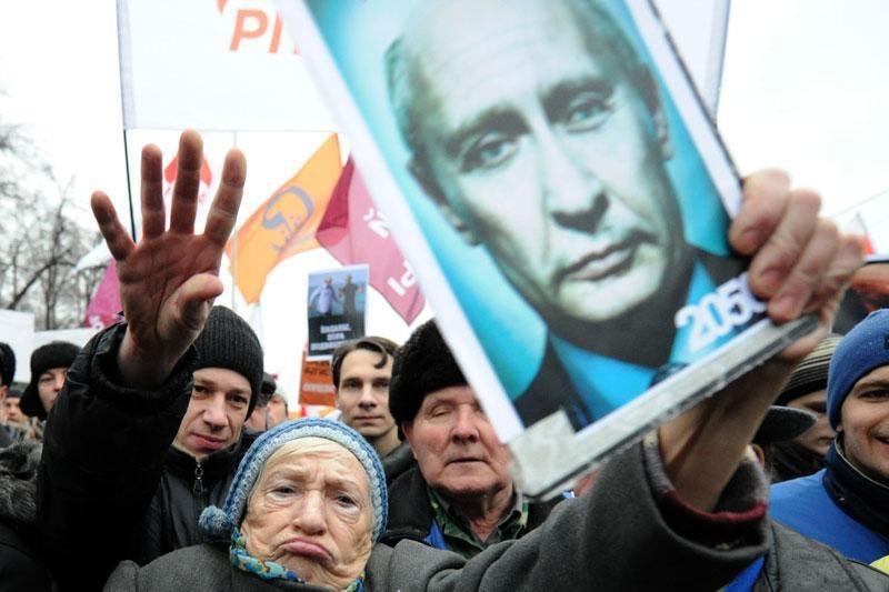 Vienintelė intriga Rusijos prezidento rinkimuose – jų skaidrumas