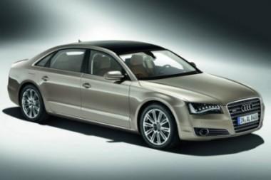 """Prabangus """"Audi A8"""" sedanas – ilgesnis"""