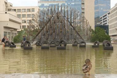Išjungiami Vilniaus fontanai