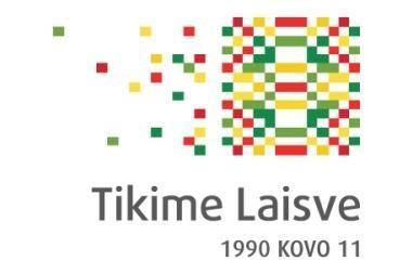 Nepriklausomybės dvidešimtmečiui sukurtas logotipas