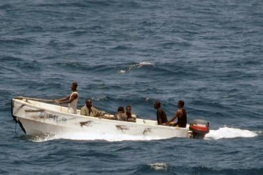 Somalio piratų užgrobtas laivas -- ne graikų