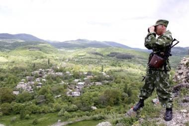 Rusija apginklavo raketomis Pietų Osetiją, pasiruošta kovai