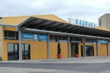 Kauno oro uoste - techninio aptarnavimo bazė