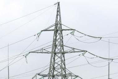 Audra pažeidė Kauno hidroelektrinės ir Kruonio elektrinės elektros perdavimo linijas