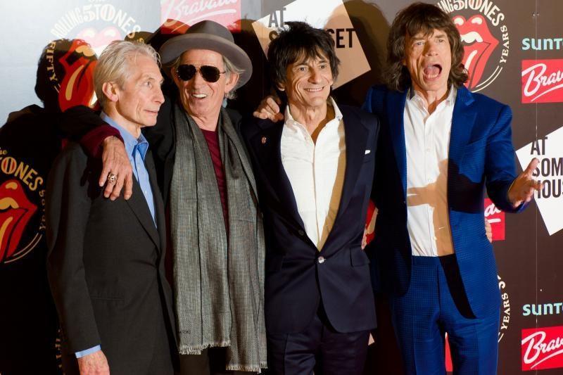 """M.Jaggeris: """"The Rolling Stones"""" šiais metais gali sugrįžti į sceną"""