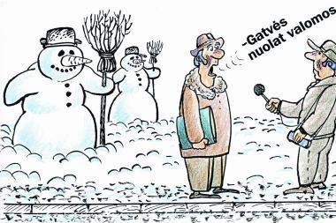 Sniego valymas - irgi verslas