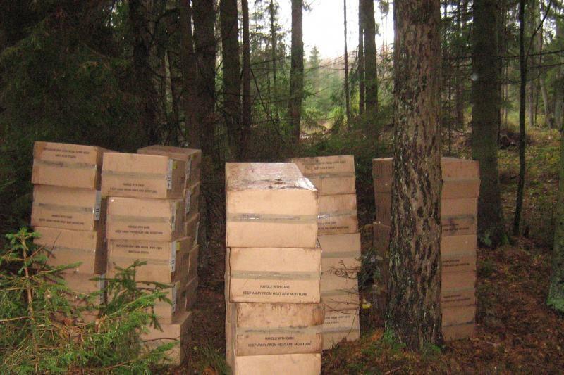 Beveik per pusmetį muitinė sulaikė kontrabandos už 39 mln. litų