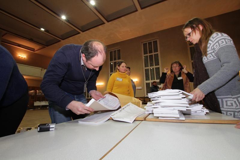 Apklausa: kaip vertinate pirmojo turo rinkimų rezultatus? (foto)