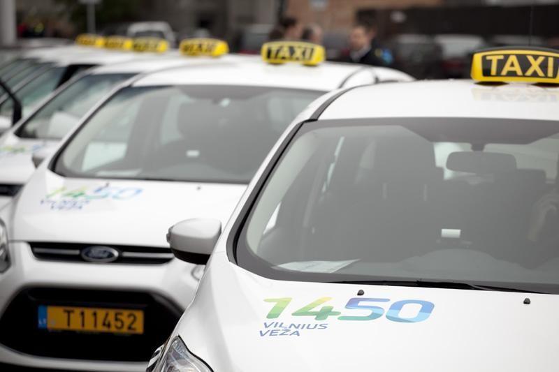 """""""Vilnius veža"""" pirks septynviečius taksi automobilius"""