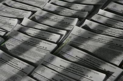 Teisingumo ministerijai sąrašus pateikė 15 partijų