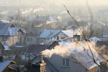Orai Kaune: šaltis šiek tiek atlėgs, snigs (atnaujinta)