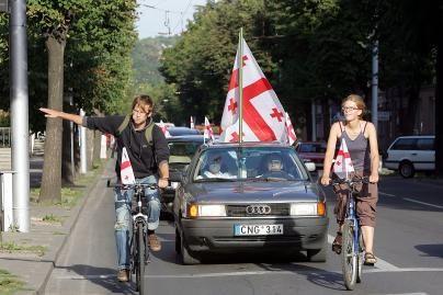Tbilisi, Kaunas su tavim!