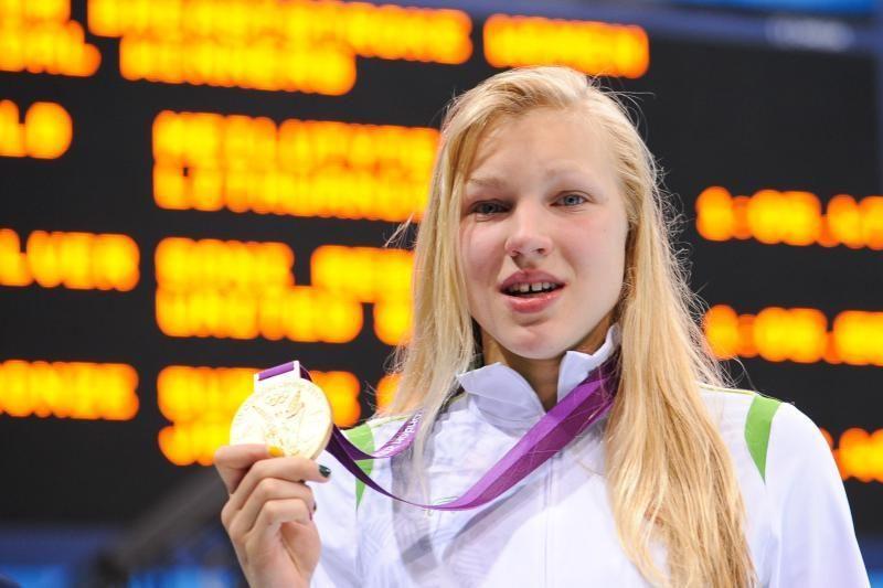 Fantastika: penkiolikmetė R.Meilutytė - olimpinė čempionė!