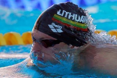 Giedrius Titenis nepateko į Europos plaukimo čempionato finalą
