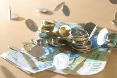 Valstybės biudžetas negavo 575 mln. litų planuotų pajamų