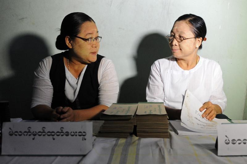 Rinkimai Mianmare gali lemti persilaužimą