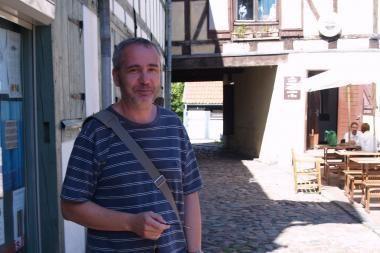 """Uostamiesčio """"Kultūrpolyje"""" – rašytojas iš Leipcigo"""
