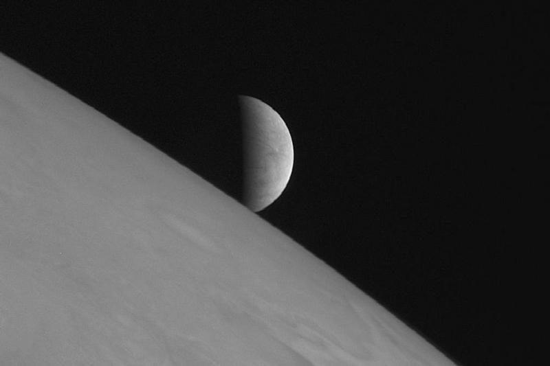 Astronomai: Jupiterio palydovo Europos paviršiuje yra sūraus vandens