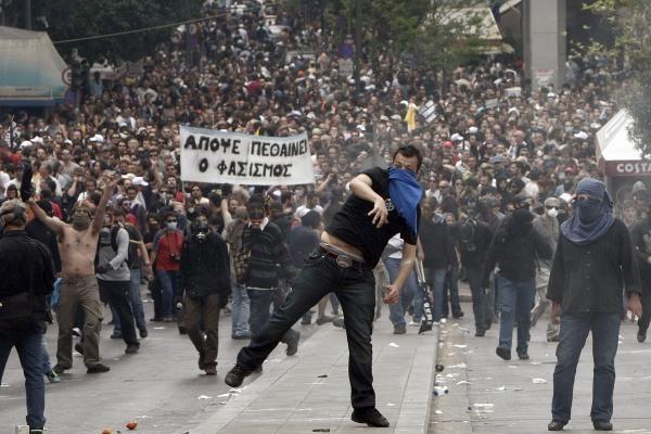 Lietuviai lieka streiko Graikijoje nuošalyje