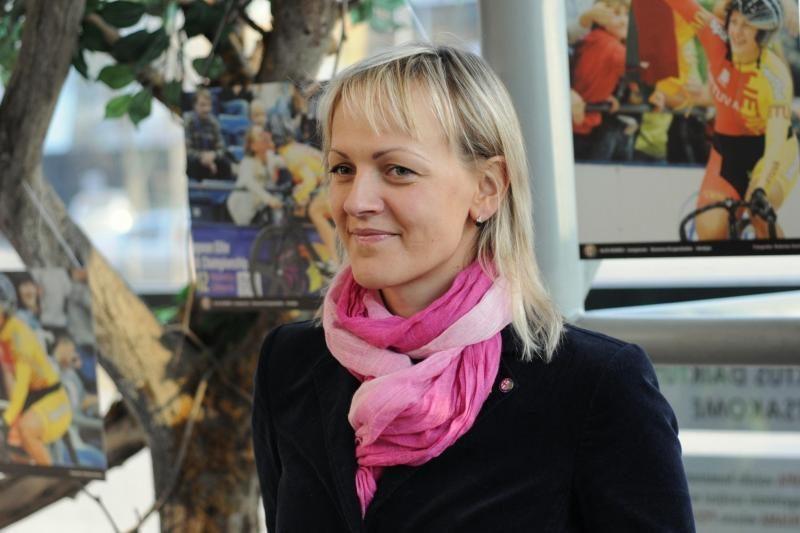 S. Krupeckaitės kovas dviračių treke primins jos nuotraukų paroda