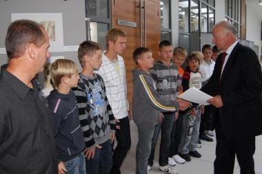 Savivaldybės dėmesys jauniesiems Vilniaus futbolininkams