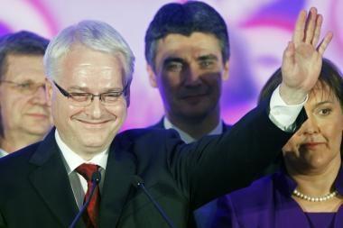 Kroatijos prezidento rinkimus laimėjo I.Josipovičius