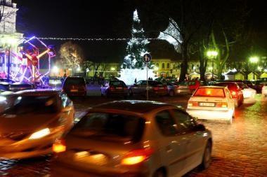 Kas ir kaip dirbs Kaune per šventes?