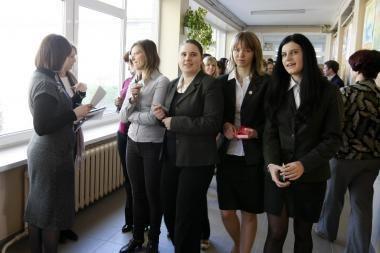 Į vokiečių kalbos egzaminą neatėjo septintadalis uostamiesčio abiturientų
