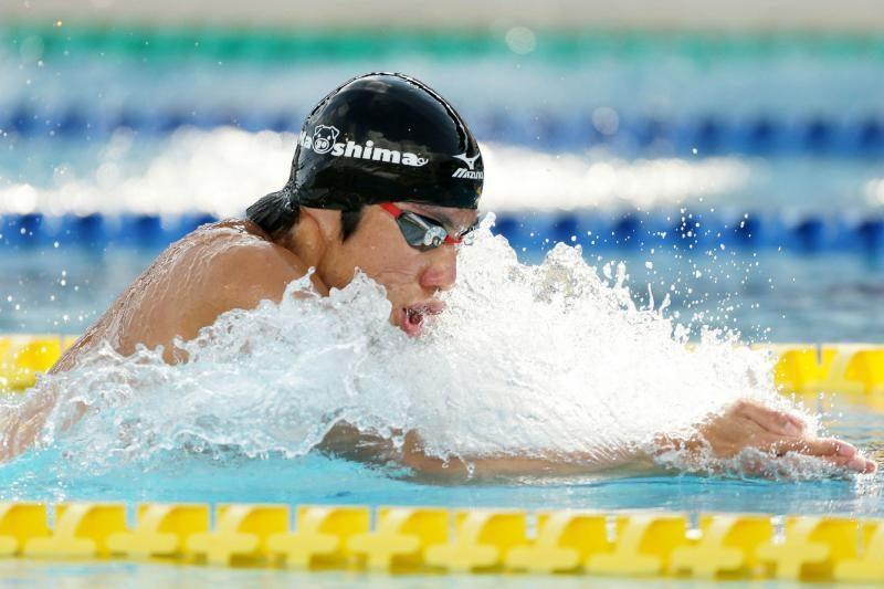 Aštuoniolikmetis Japonijos plaukikas pagerino pasaulio rekordą