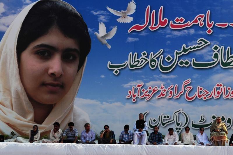 Už teisę mokytis kovojusi pakistanietė išsiųsta gydytis į Angliją