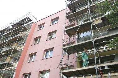 Daugiabučių modernizavimo programos startui – per 100 mln. litų