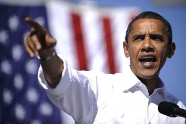 Išankstiniame balsavime pirmauja B.Obama