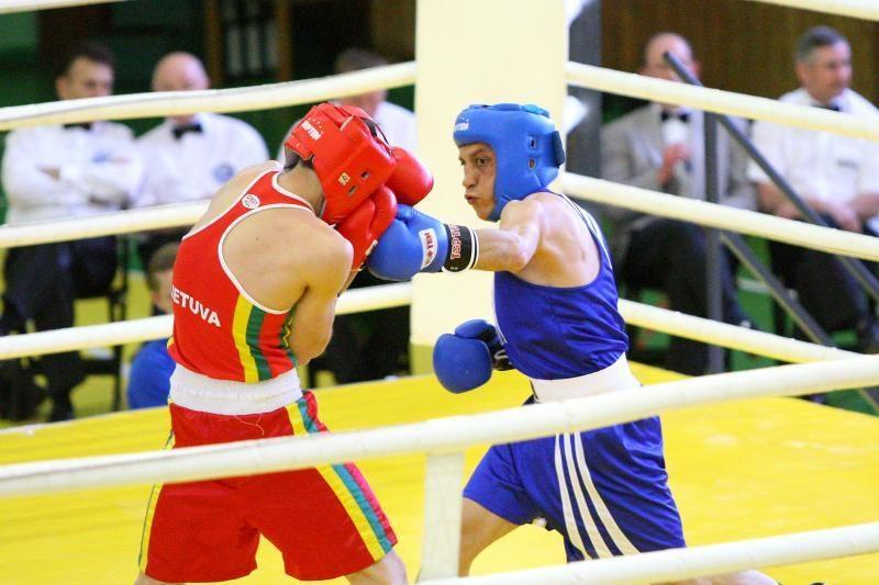 A.Šociko vardo bokso turnyro finale kovos tik šeši lietuviai