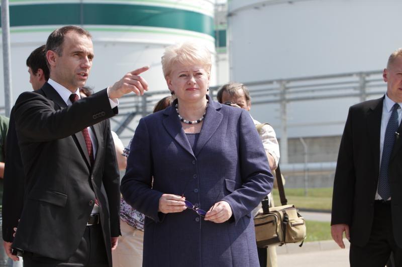 D. Grybauskaitė: uosto plėtros planų neturi stabdyti biurokratiniai suvaržymai