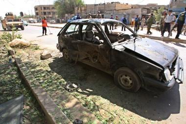 Irako sostinėje teroristai surengė seriją išpuolių