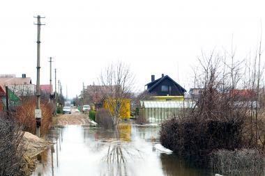 Panevėžio rajone iš sodybų evakuota per 200 gyventojų