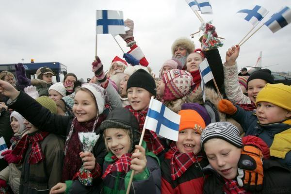 Kalėdų Senelis švęs Suomijos nepriklausomybę