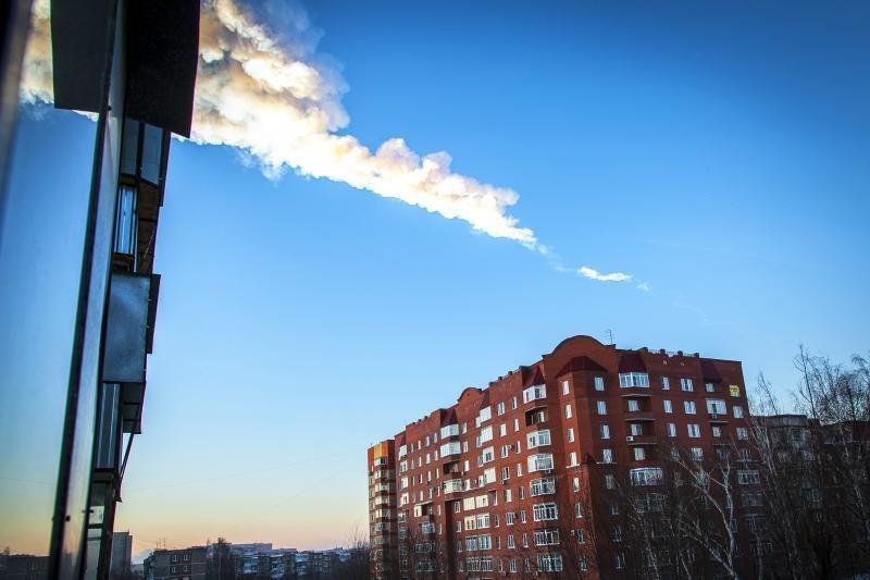 """Rusijoje – meteorito nuolaužų """"medžioklė"""""""