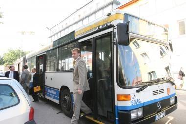Klaipėdoje autobusai prabils keleiviams