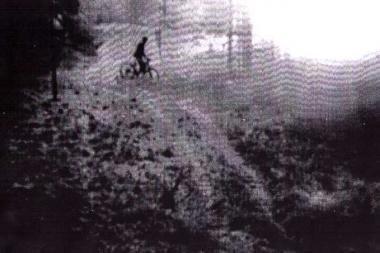 Pasieniečiai sulaikė dviratininką iš Šveicarijos