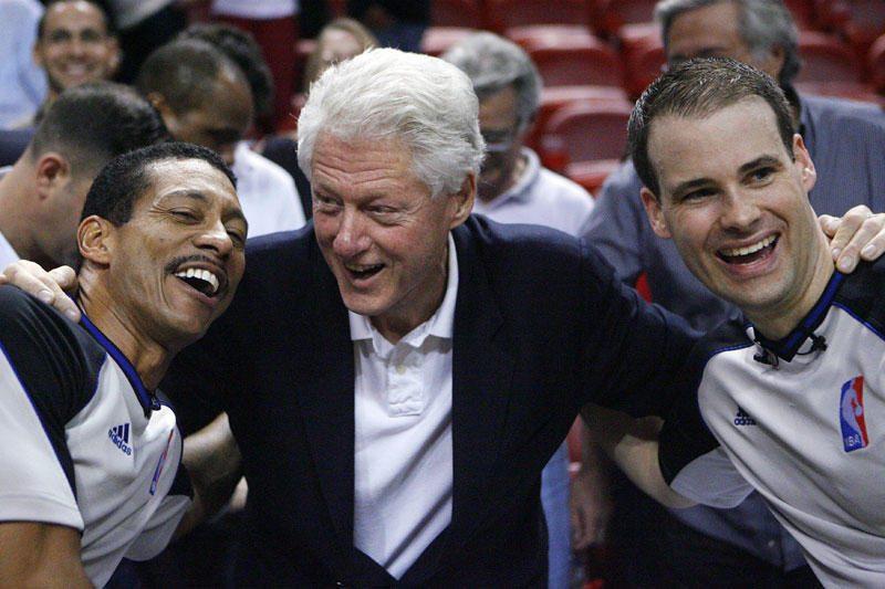 B. Clintonas galėtų pretenduoti į Airijos ar Prancūzijos prezidentus