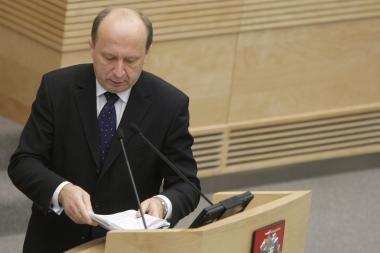 A.Kubilius: Vyriausybė sieks, kad vaistų kainos ir toliau mažėtų